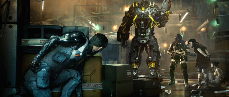 Deus Ex Mankind Divided Gamescom 2