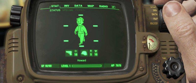 Fallout 4 E 3 Pipboy 1