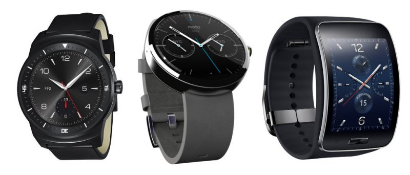 G Watch R Moto 360 Gear S