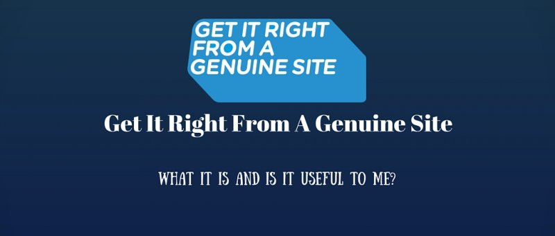 Get It Right From A Genuine Site 1