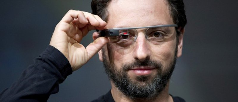 Sergej Brin a Google Glass