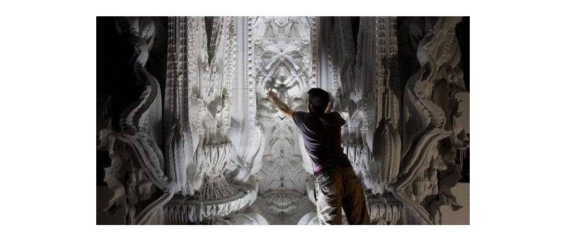 3Dtisk - gotická katedrála
