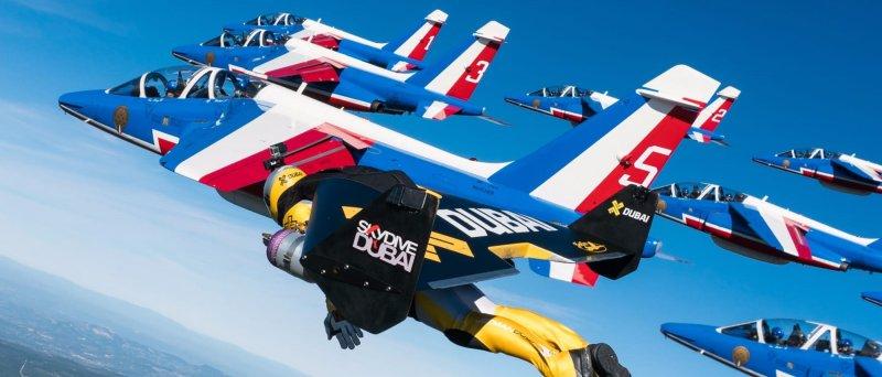 Jetmen Patrouille De France Formation Flight 1