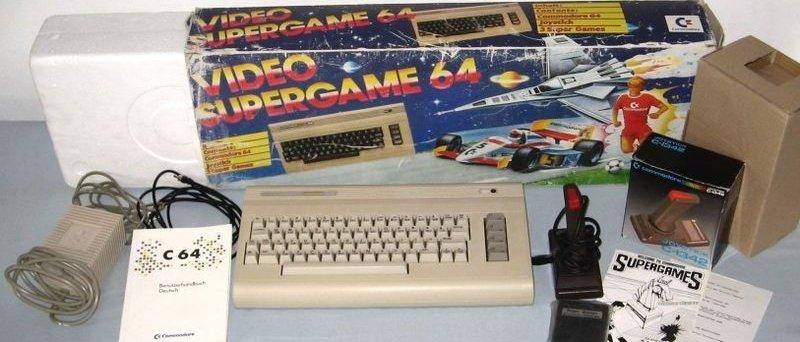 Konzole Commodore 64