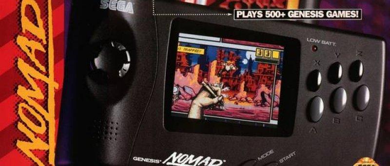 Konzole Sega Nomad 1 1