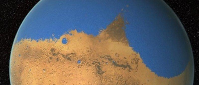 Mars Ocean