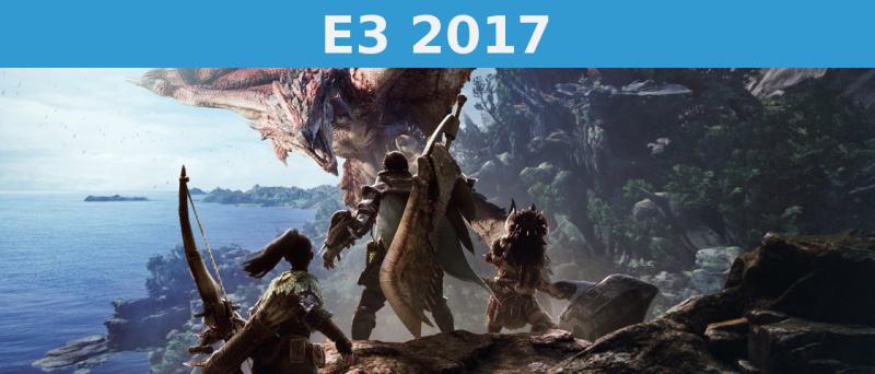Monster Hunter World E 3 2017 Uvodni