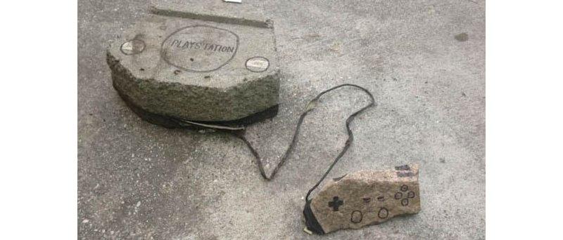 Stone console