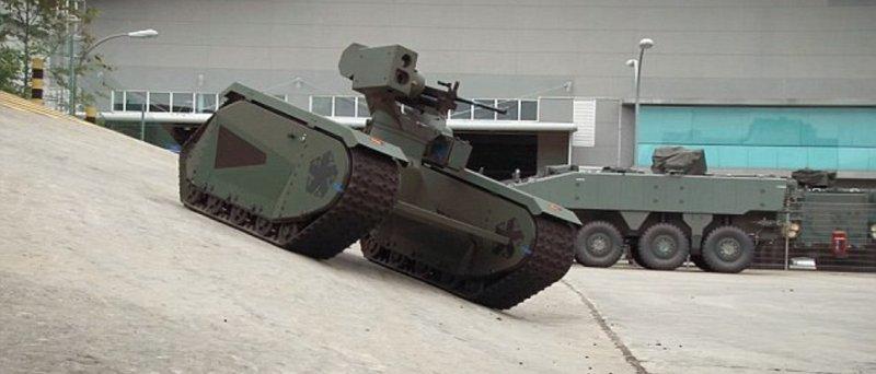Roboticka Tankova Platforma