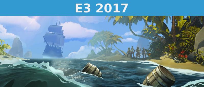 Sea Of Thieves E 3 2017 Uvodni