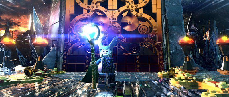 The Avengers Lego Marvel Super Heroes
