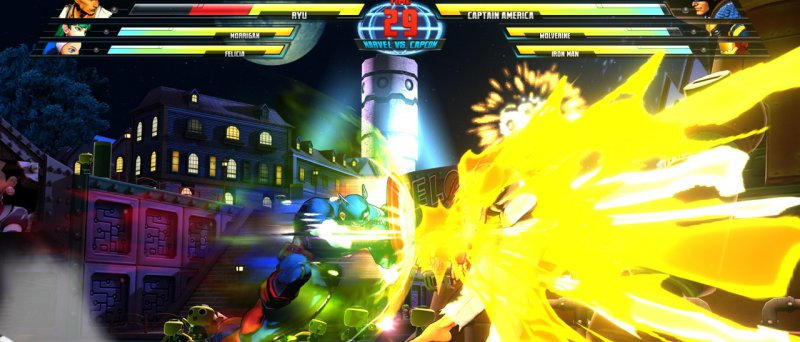 The Avengers Marvel Vs Capcom 3 Fate Of Two Worlds
