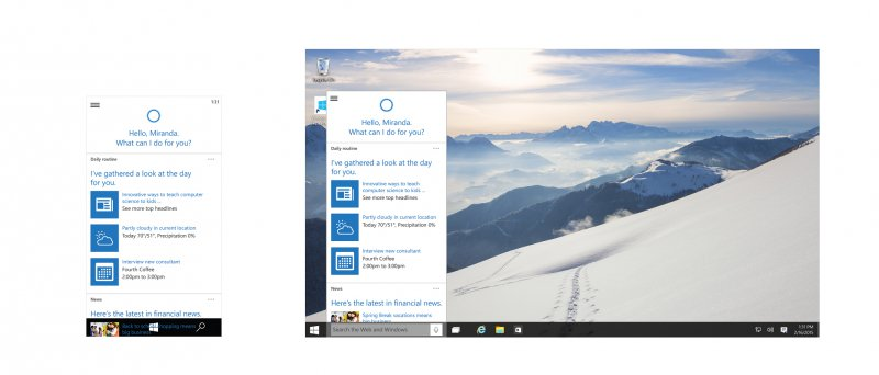 Win 10 Windows Cortana Web