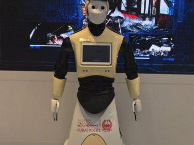 Dubaj Robot Policie 1