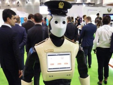 Dubaj Robot Policie 4