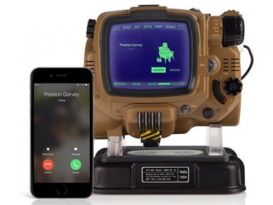 Fallout Pip Boy Answer Call