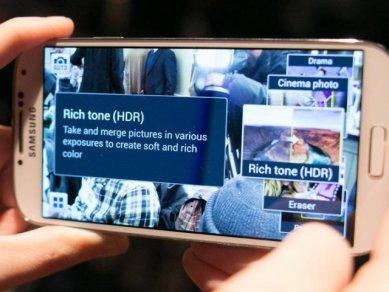 Samsung Galaxy S 4 - funkce fotoaparátu