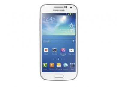Samsung Galaxy S4 Mini - bílá, čelo