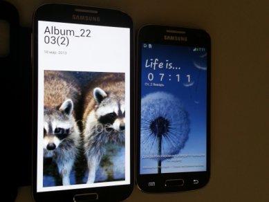 Samsung Galaxy S4 Mini - porovnání s S4