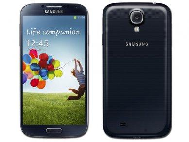 Samsung Galaxy S 4 - v černé
