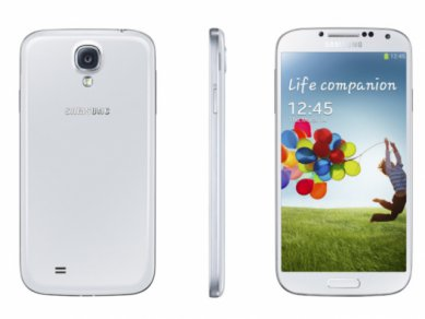 Samsung Galaxy S 4 - záda, bok, předek
