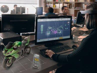 Microsoft Hololens Motorcycle