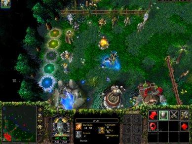 Warcraft 3 Dota 2