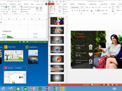 Windows 10 Tech Preview Three Program Snap And Suggestions