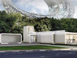 3 D Print Building Dubai 1