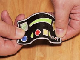 Bebop Sensor Arm Controller