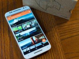 Cardboard Camera Moto X Pure Hero
