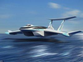 Ekranoplan Fly Ship
