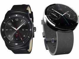 G Watch R Moto 360 Gear S