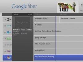 Google Fiber Tv