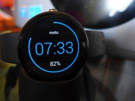 Hodinky Moto 360 Wear Android 3
