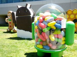 Android 4.1 Jelly Bean logo, techtv101