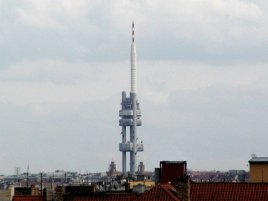 Praha žižkov vysílač