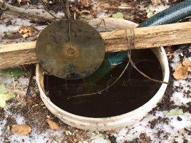 Data Tresor Disc vytažený po 3 měsících z dešťové vody
