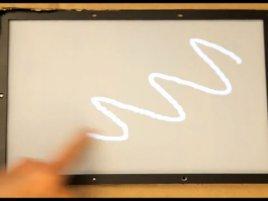 Microsoft Research 1ms latency touchscreen
