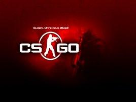 Counter Strige Global Offensive červené logo