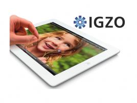 Apple a IGZO - úvodní foto