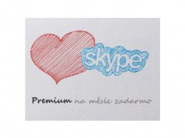Skype měsíc zdarma - úvodní foto