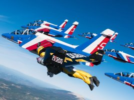 Jetmen Patrouille De France Formation Flight 1