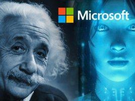 Microsoft Cortana Einstein