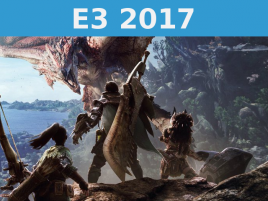 Monster Hunter World E 3 2017 Uvodni