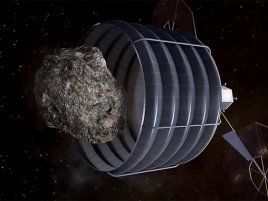 Nasa Arm Asteroid