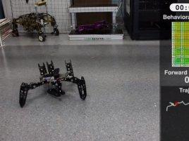 Robot Broken Leg