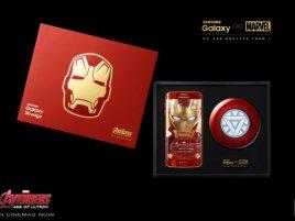 Samsung Galaxy S 6 Edge Iron Man