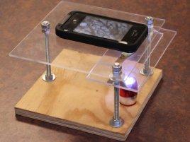 Smartphone to digital microscope