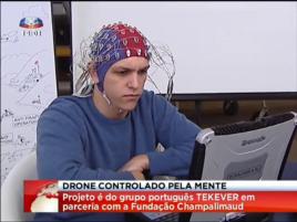 Tekever Drone Ovladani